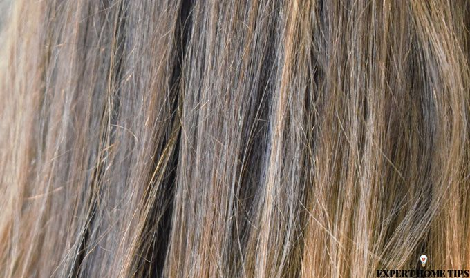 brunnette long hair