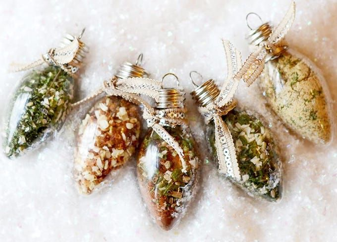 spice filled ornaments
