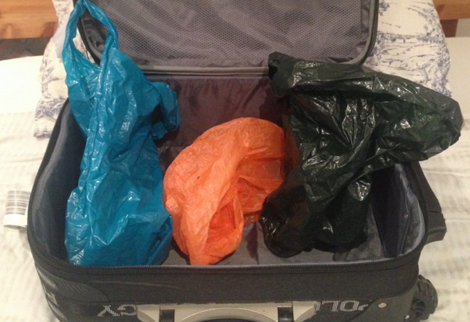 Pack your plastic!