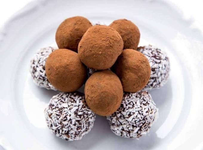 garlic chocolate truffles