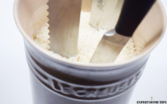 rice knife block