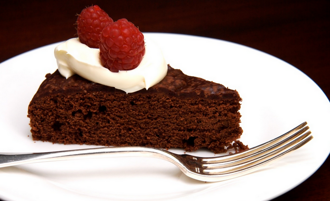 Chocolate + Wine = Cake