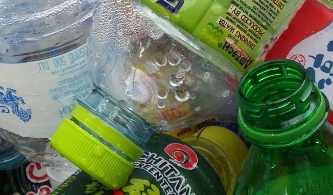 Recycle & Re-use: Pretty uses for plastic bottles