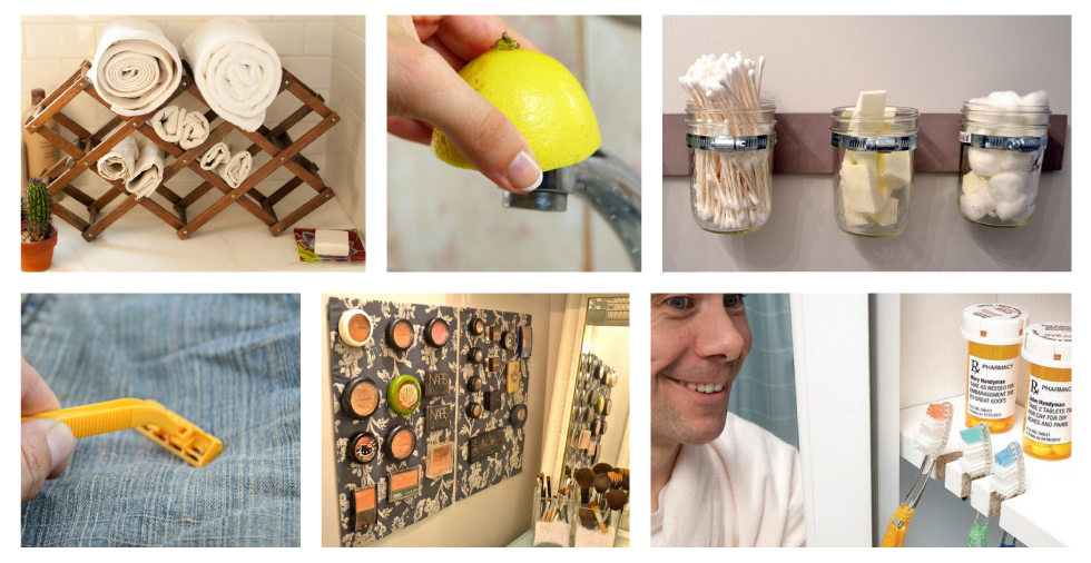 21 superb cleaning hacks for a stunning bathroom - Bathroom Cleaning Hacks